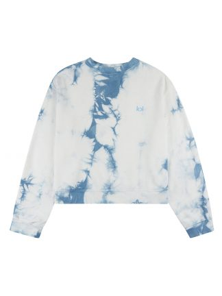 One Sweater Tie Dye Blue