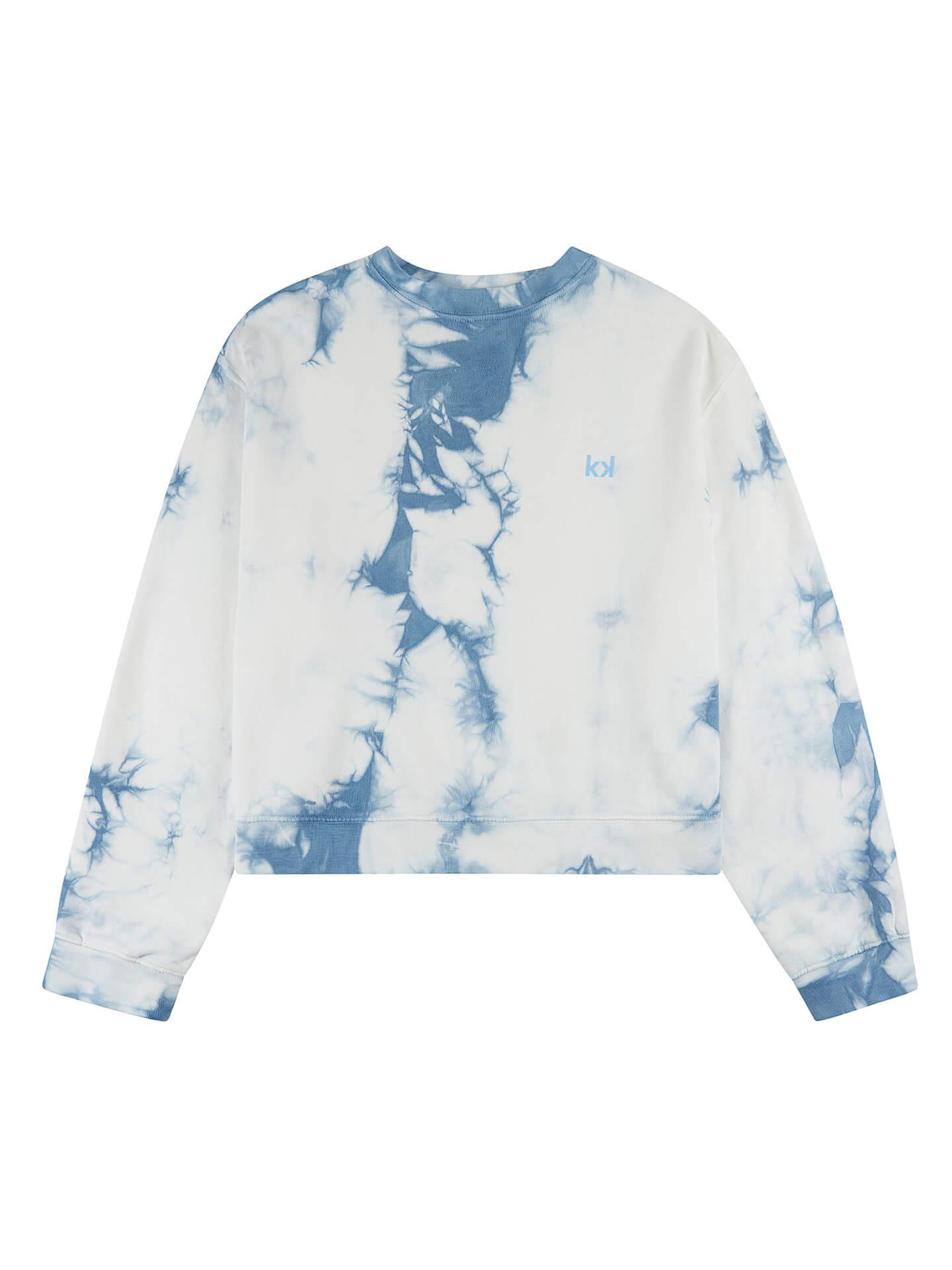 Uma Sweater Tie Dye Azul